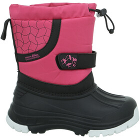 High Colorado Snowy II Chaussures Enfant, pink-black